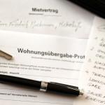 Wohnungsübergabe-Protokoll, Schlüssel und Stift